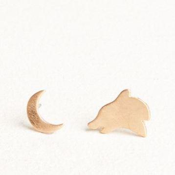 Wolf Earrings EB